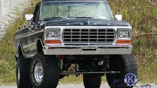 1979 Ford F250 7 0l V8 Highboy Monstertruck Youtube