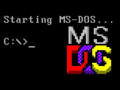 Juegos de MS-DOS emblemáticos de los 90. (Videoblog-reflexión)