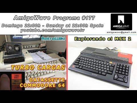 AmigaWave #177 - Crear Turbo cargas de cinta en C64, explorando el MSX 2.