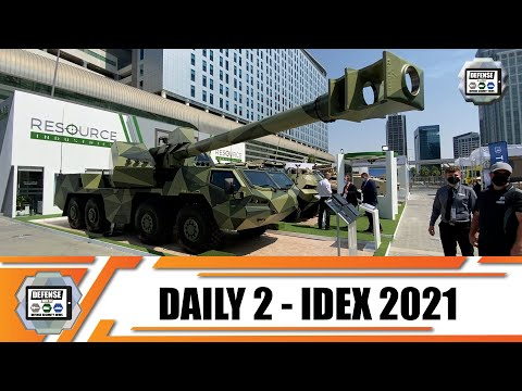 IDEX 2021 Day 2 International Land Defense Exhibition Official Online Show Daily News and Web TV