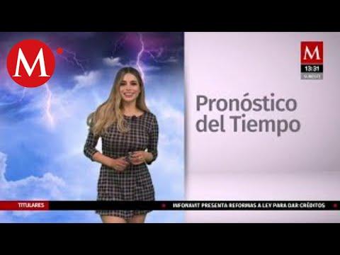 El clima para hoy 11 de noviembre, Pamela Longoria