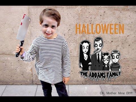 HALLOWEEN: Disfraz hijo de la Familia Addams (sin costuras)
