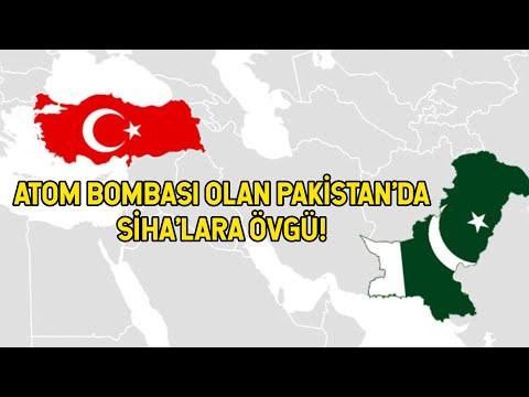 Pakistan'dan Türk SİHA'larına Bomba Gibi Açıklama!