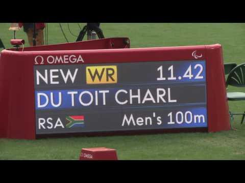 Team SA Paralympics 2016| Sasol Highlights Package | Charl du Toit