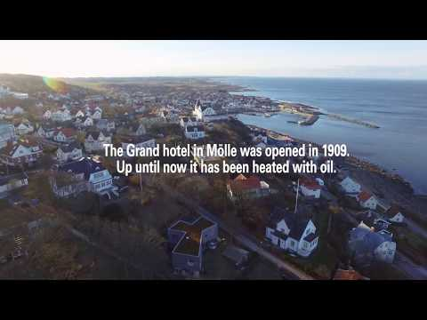 The Grand Hôtel in Mölle convert to ground source energy