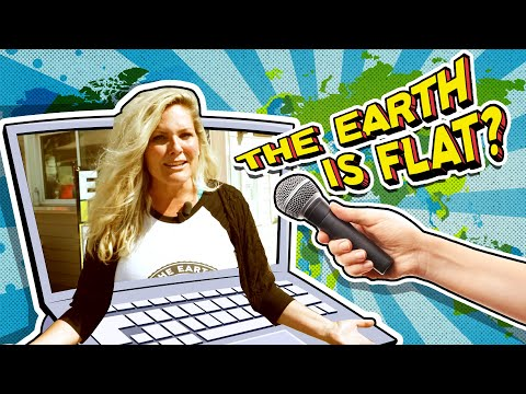 Christians Prove Flat-Earthers Flat Out Wrong!