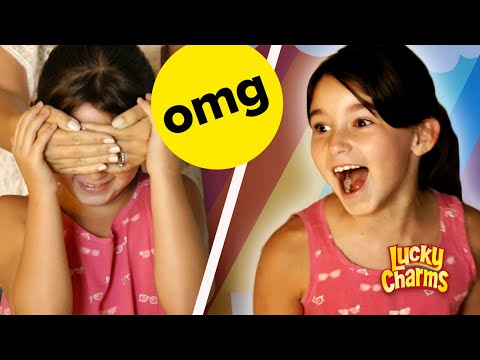 We Surprised This Kid With A Rainbow Bedroom // Presented By BuzzFeed & Lucky Charms