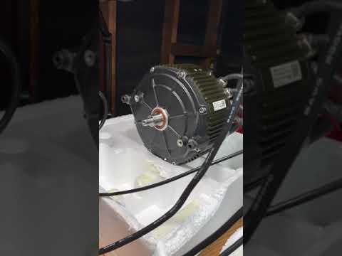 SR motor test