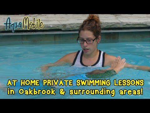 Oak Brook, Illinois at home private swimming lessons