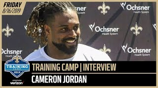 Cam Jordan from Day 2 of Saints-Chargers Joint Practices | New Orleans Saints