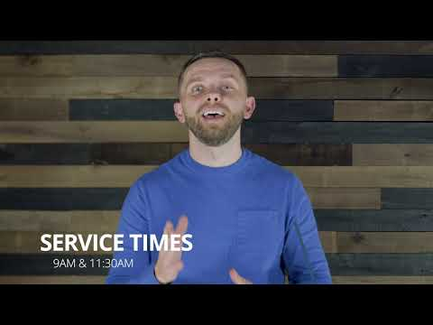 Sunday Announcements - New service times