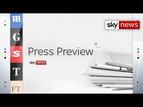 Press Preview - A first look inside Tuesday's newspapers