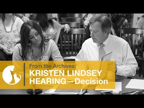 Alley Cat Allies Reacts To Kristen Lindsey Decision