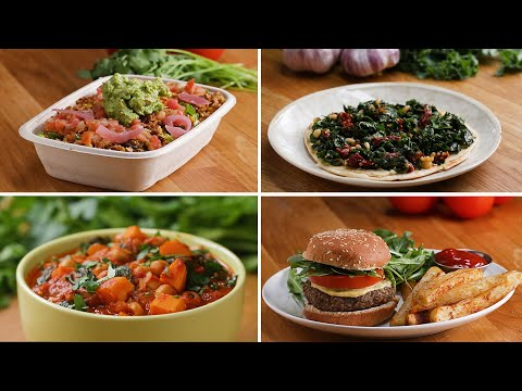 Vegan Meals High In Iron