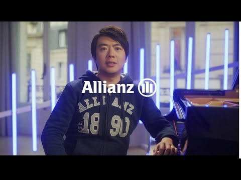 A virtual gift from Allianz ambassador and international pianist, Lang Lang