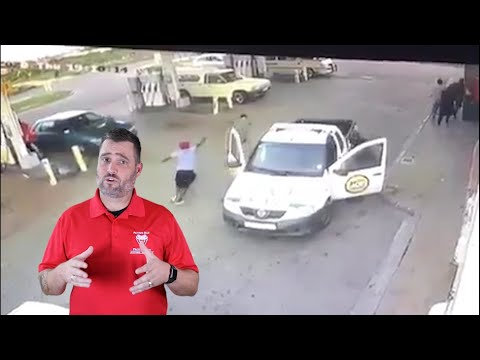 South African Security Guard Targeted For His Firearm
