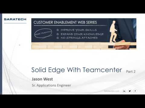 Saratech Enablement Series:  Managing Complexity with Solid Edge Design Management