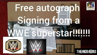 #WWE #EBGames #Amazon WWE Superstar Free Autograph Signing!!!