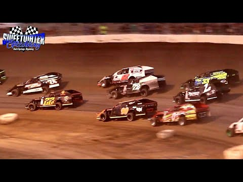 Sweetwater Speedway IMCA Modified Main Event 7/4/21 - dirt track racing video image