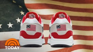 Nike Pulls Betsy Ross Flag Sneakers After Backlash | TODAY