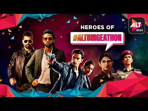 Heroes Of Altbalaji | ALTBingeathon | ALTBalaji