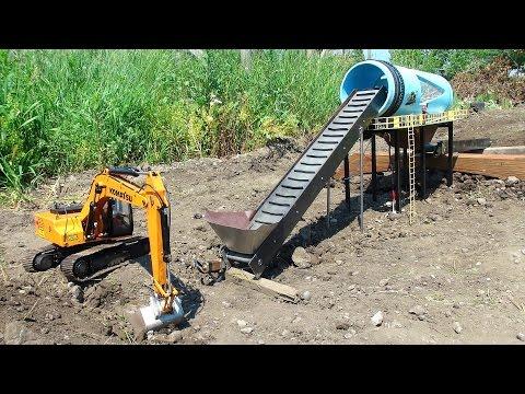 RC ADVENTURES - GOLD Mine Trommel & 4200XL Excavator, Radio Controlled - UCxcjVHL-2o3D6Q9esu05a1Q