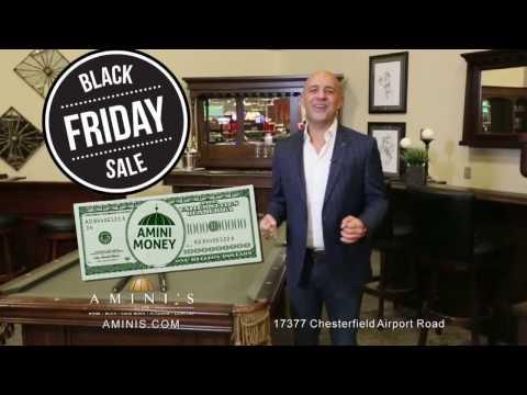 Amini's Black Friday Sale - 2016