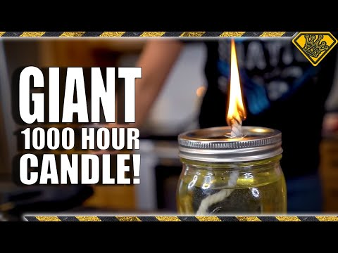 Giant LARD Candle