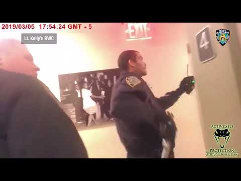 Harlem Officers Respond To Reports Of Man With A Gun