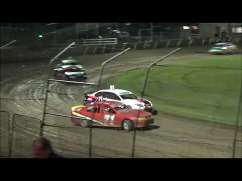 Production Sedans Feature - Lismore Speedway - 24.04.21 - dirt track racing video image