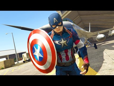 GTA 5 Mods - ULTIMATE CAPTAIN AMERICA MOD! GTA 5 Captain America Mod Gameplay! (GTA 5 Mods Gameplay) - UC2wKfjlioOCLP4xQMOWNcgg