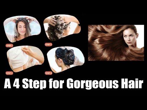A 4 Step for Gorgeous Hair | Orange Health