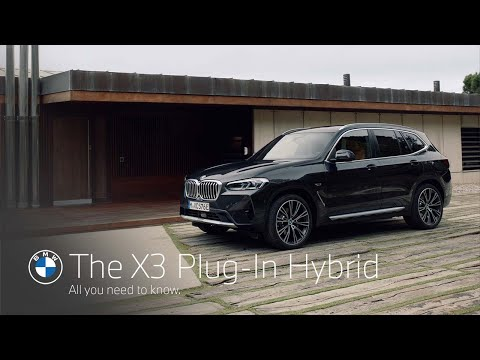 The new BMW X3 Plug-In Hybrid. All you need to know.
