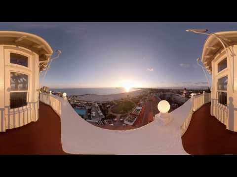 Hotel del Coronado Beach Report -  360° Virtual Reality