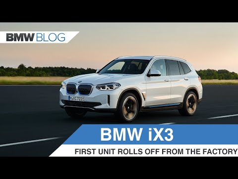 Here's how the BMW iX3 is made at the Shenyang Plant