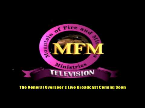 MFM SPECIAL MANNA WATER SERVICE WEDNESDAY AUGUST 12TH 2020