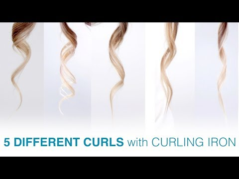 5 SUPER EASY TO CURL YOUR HAIR