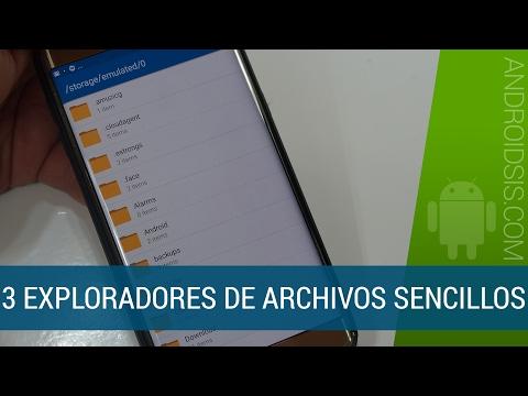 3 Exploradores de archivos muy sencillos y livianos para Android