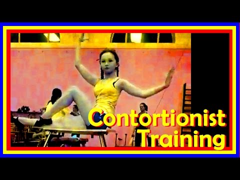 Contortion & Flexibility: Contortion Training In A Circus School