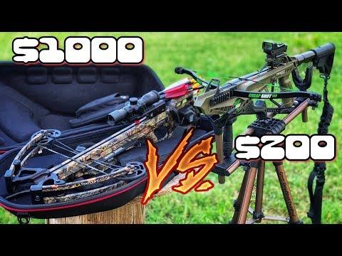 $200 Crossbow  vs $1000 Crossbow