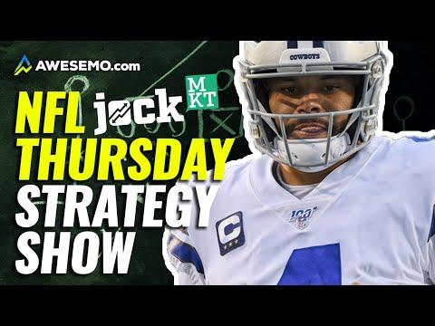 Jock MKT Week 1 Thursday Night Football NFL DFS Strategy Show: Expert Daily Fantasy Football Advice