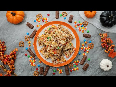 Halloween Crispy Rice Treats in 15 Minutes or Less // Presented by BuzzFeed & GEICO