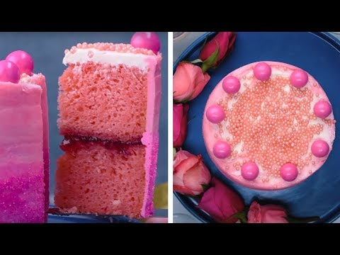 This Pink Strawberry Treat Really Takes the Cake! | Amazing Cake Decorating Hacks by So Yummy