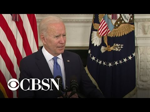 Biden talks federal stimulus funding for restaurants