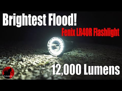 Fenix LR40R USB-C Rechargeable 12000 Lumen Flashlight