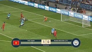 VIETNAM vs MANCHESTER CITY - MAN CITY - Full Gameplay - PES19