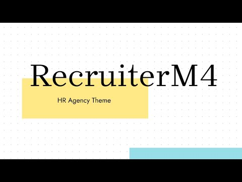 Mobirise Human Resources Website Theme   RecruiterM4