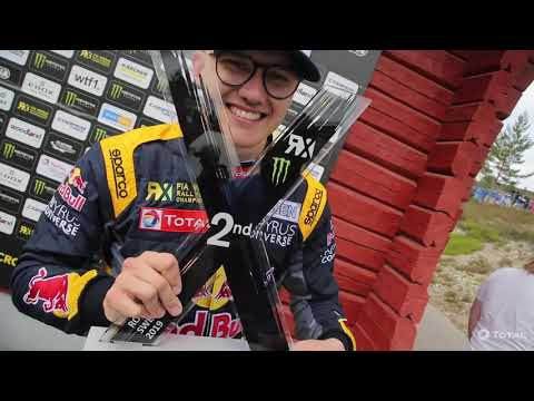 Timmy Hansen & Team Hansen MJP - 2019 #WorldRX Drivers and Teams Champions with TOTAL!
