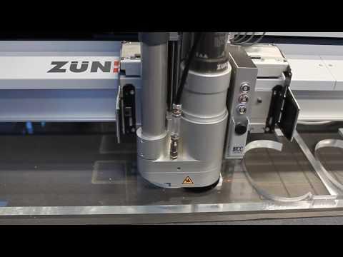Резка акрила толщиной 20 мм с помощью Zünd