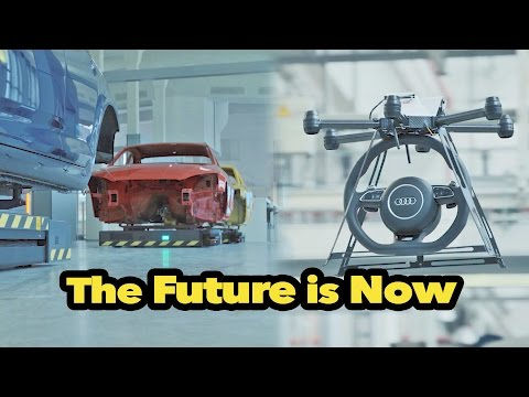 ? Audi Smart Factory - The Future is Now